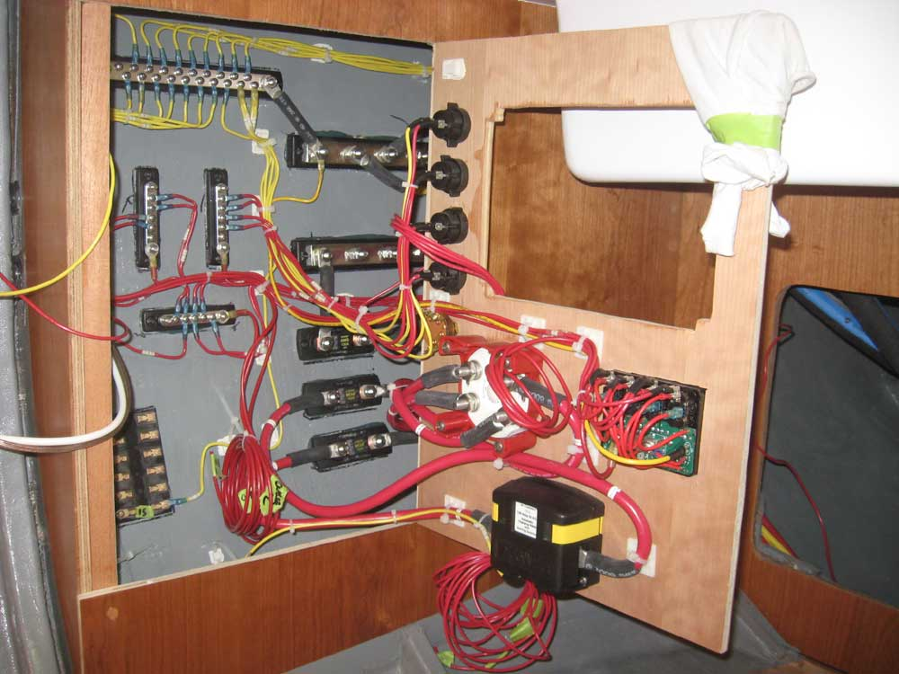 northern yacht restoration 1966 pearson triton circe rh lackeysailing com boat wiring harness covers boat wiring guide