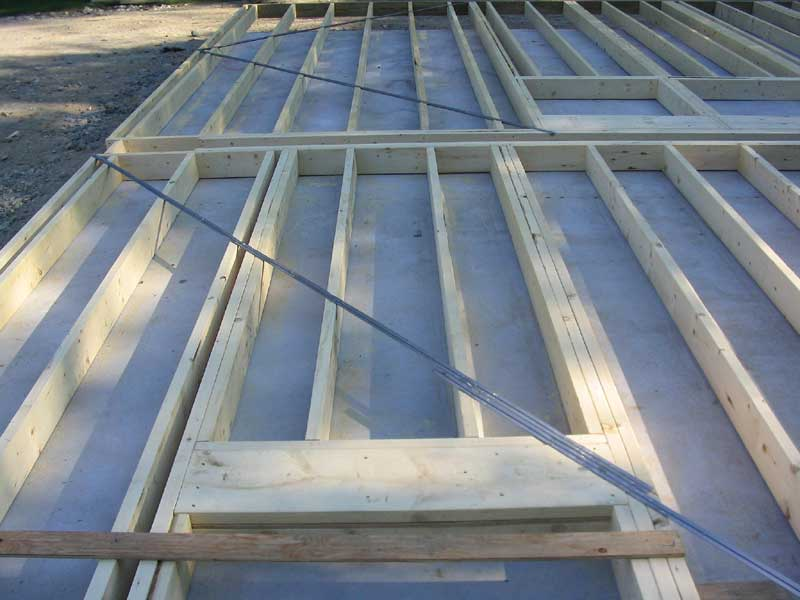 The Triton Daysailor Boat Barn Framing Details