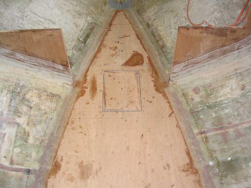 The Triton Daysailor From A Bare Hull Interior Basics