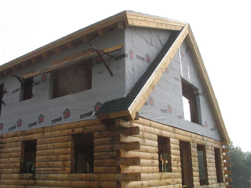Building A Log Home In Maine