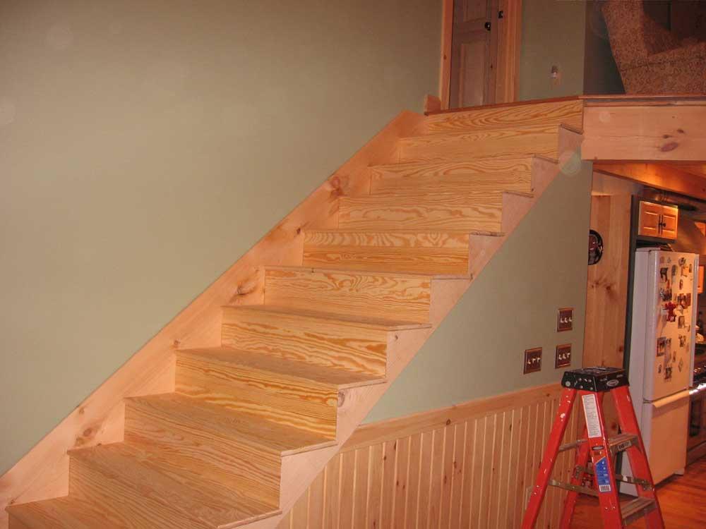 Обшить лестницу ламинатом своими руками