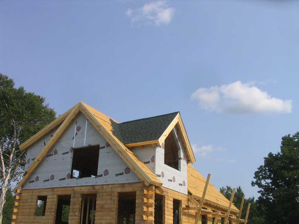 Shed dormer shingle tiny house loft ladder shed for How much does it cost to dormer a cape