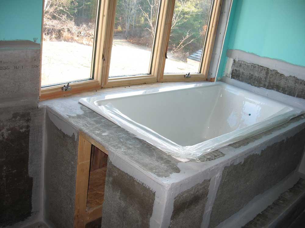 Remove Bathtub Mortar Bed Thevote