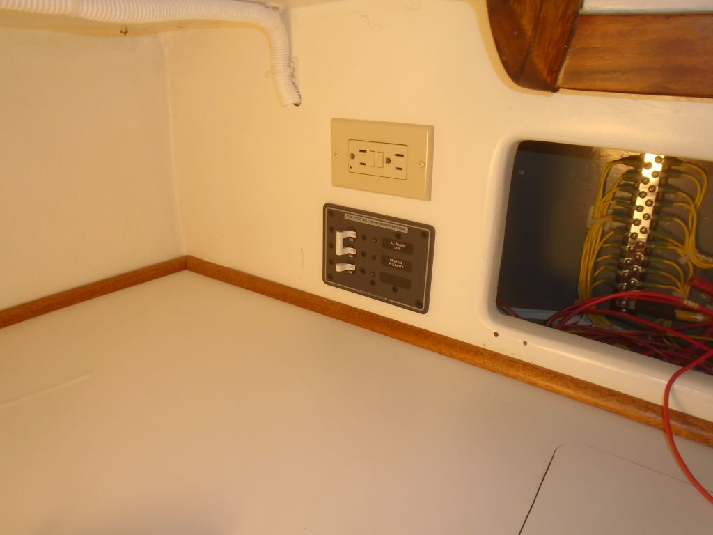 ac power wiring house wiring ac power outlet northern yacht restoration